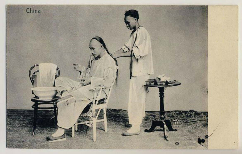 Cartolina cinese e Thonet n.14