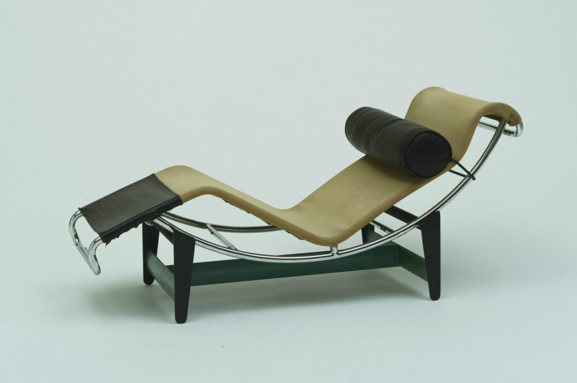 Le Corbusier chaise longue LC4 by Cassina ex Thonet B306