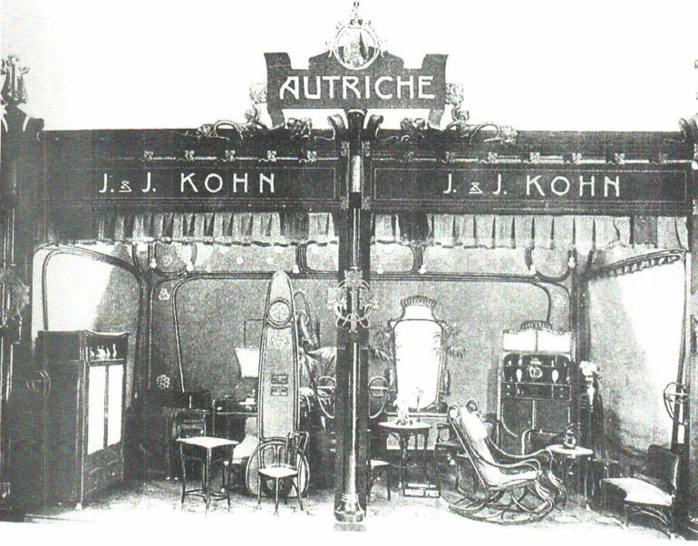 Kohn Stand Mostra Parigi 1900