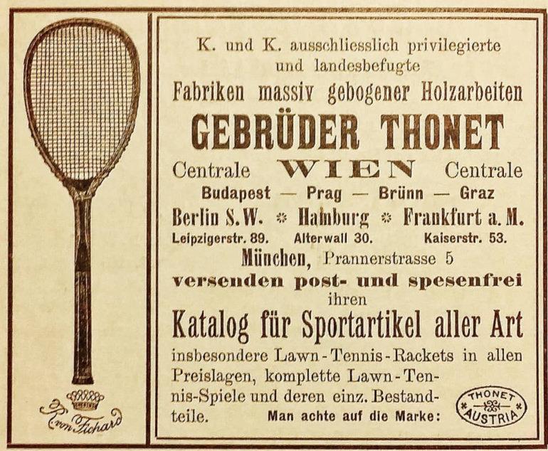 Thonet-tennis-pubblicità