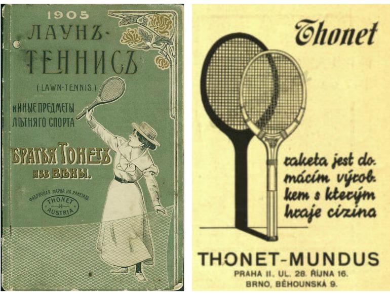 Thonet articoli tennis