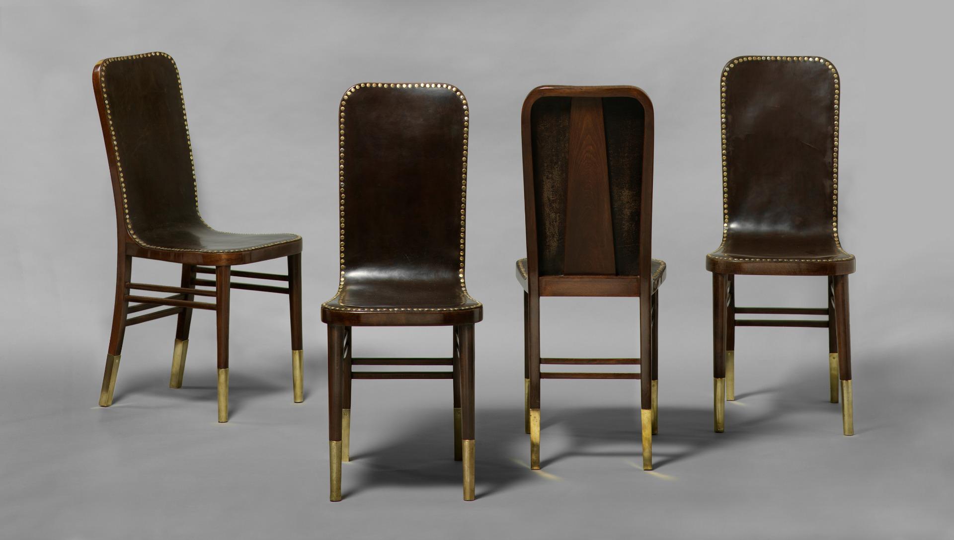Josef urban e le sue sedie per il paul hofner restaurant for La sedia nel design