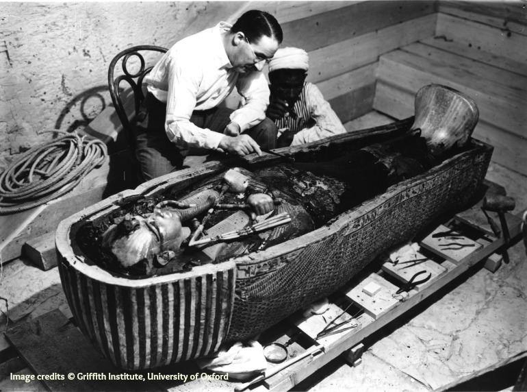Howard Carter, Tutankhamon