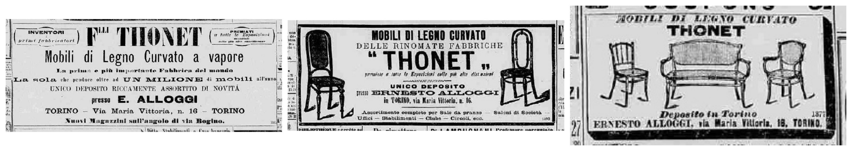 pubblicità Fratelli Thonet