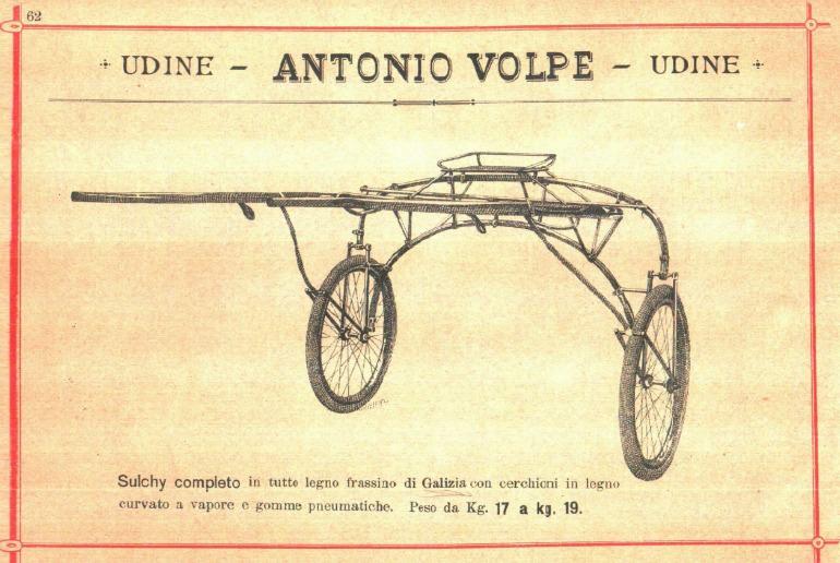 Società Antonio Volpe sulky