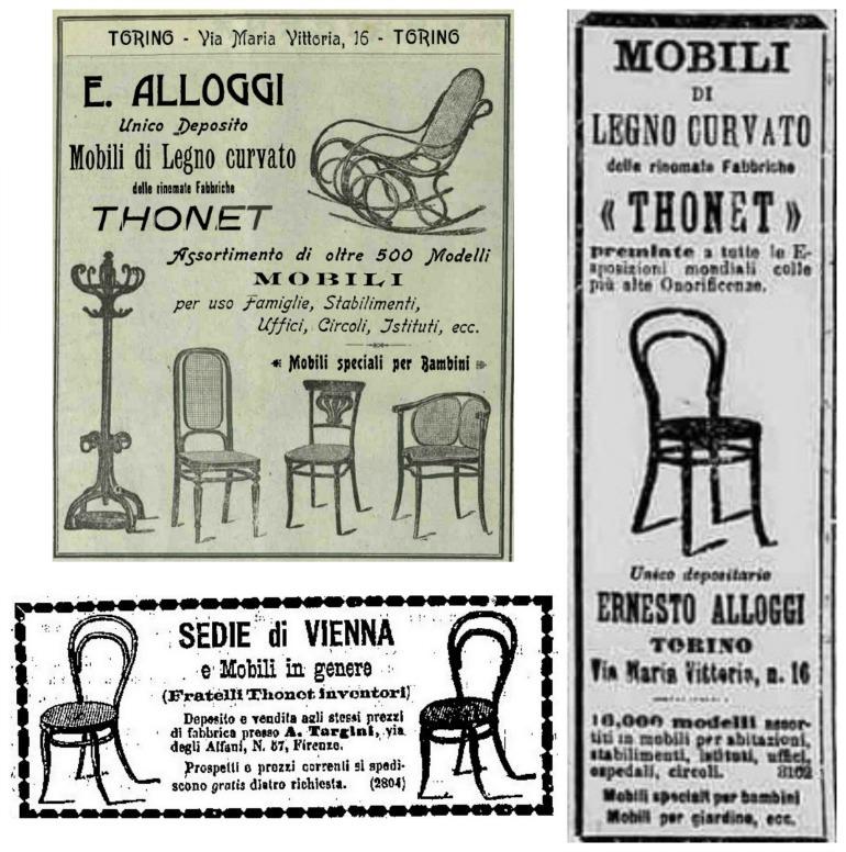 pubblicità Thonet