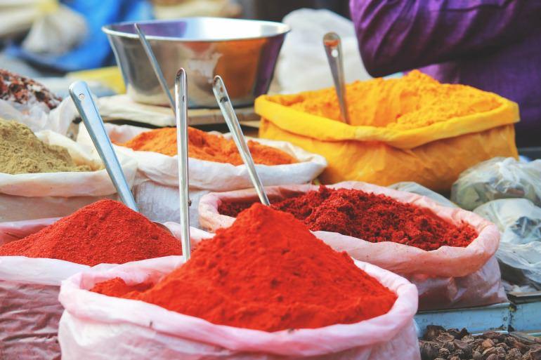 Spezie per colorare