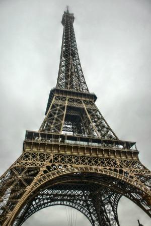 Tour Eiffel da sotto