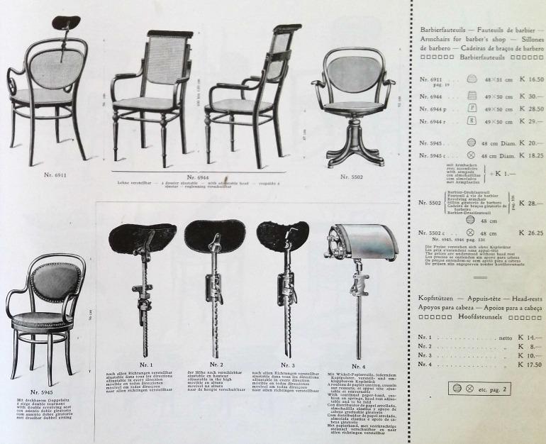 Catalogo Thonet 1911