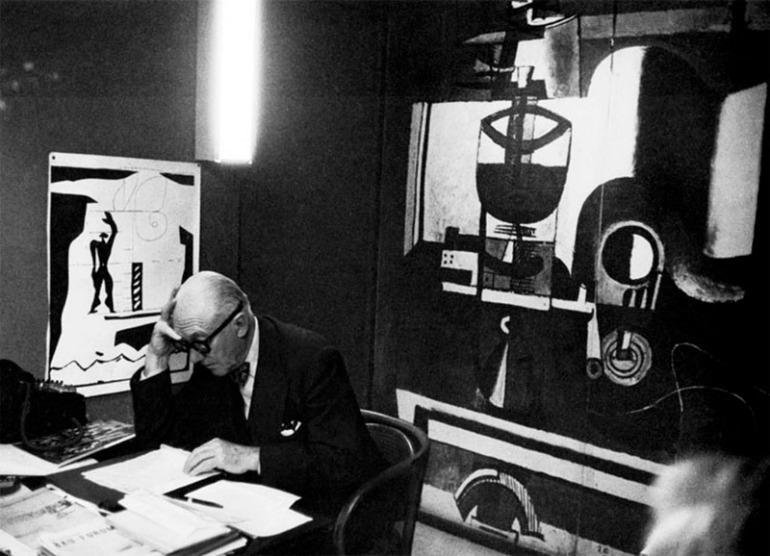 Le Corbusier studio