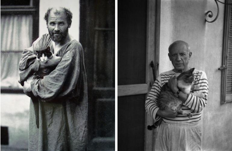Gustav Klimt & Pablo Picasso