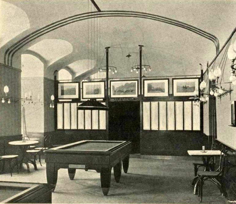 sala da biliardo café museum