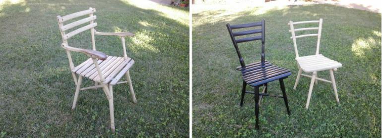 Sedie e poltrone da giardino legno curvato for Poltrone da giardino