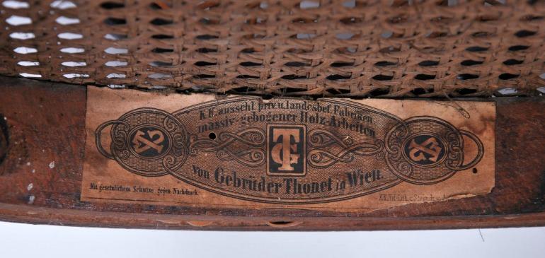 Thonet etichetta 1B