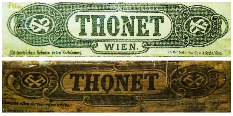 Thonet etichette