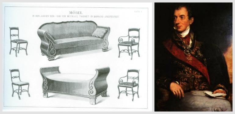 Thonet e Metternich