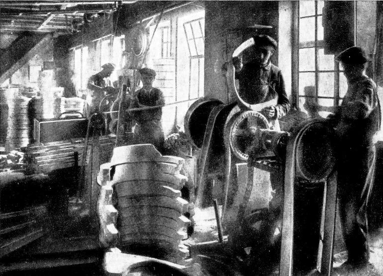 Thonet in fabbrica