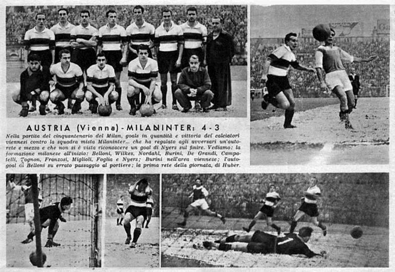 Austria Vienna vs Milaninter-1949