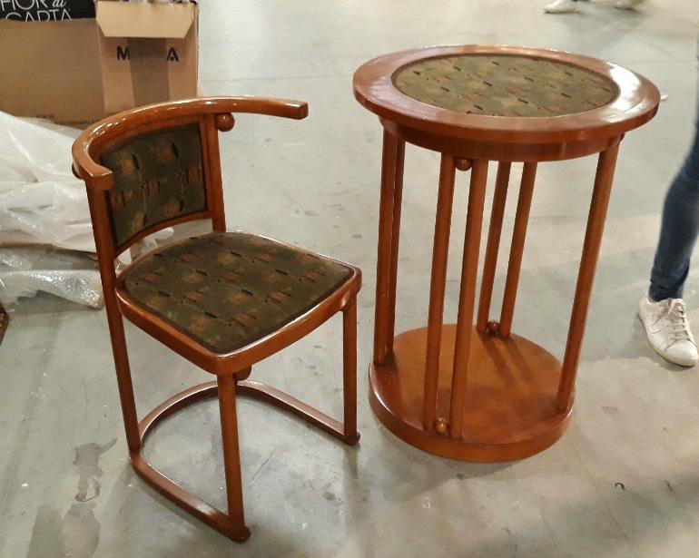 Mercanteinfiera autunno 2017 legno curvato for Tavolino e sedia montessori