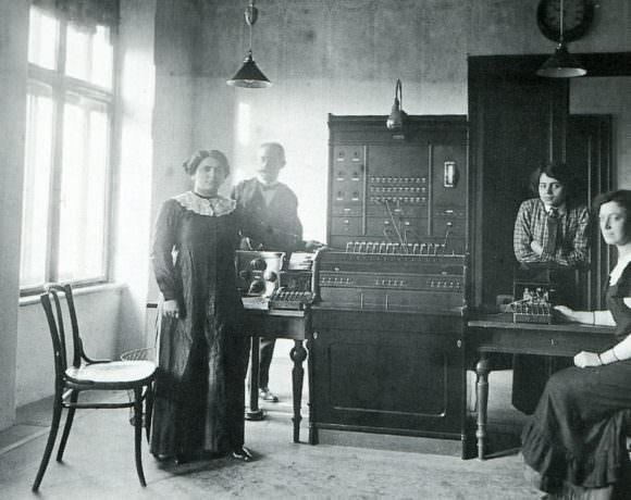 Thonet alle Poste Trieste 1914