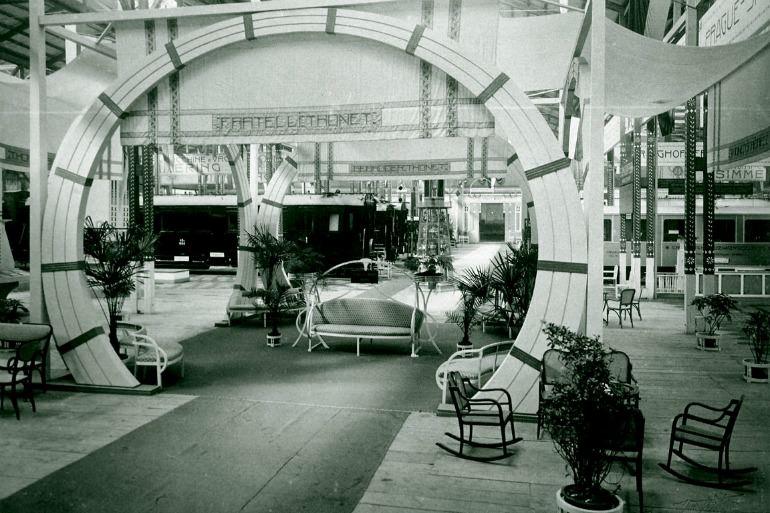 Thonet Expo Milano 1906