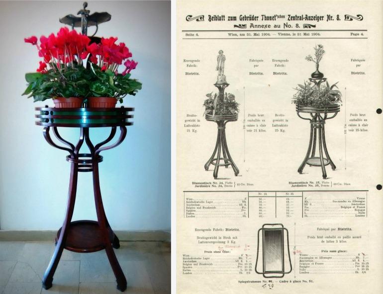 Thonet fioriera n.35
