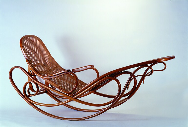 La chaise longue Thonet n.7500