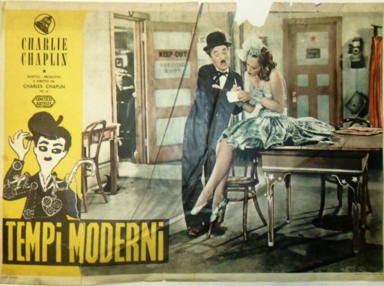 Tempi Moderni Chaplin