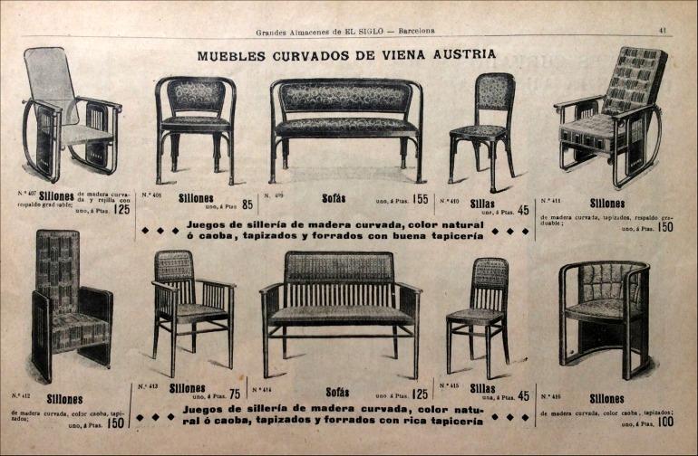 """Almacenes El siglo"". Barcelona (1913)"