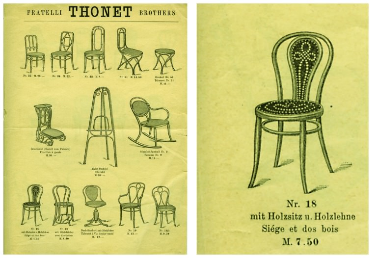 Catalogo 1883 Thonet