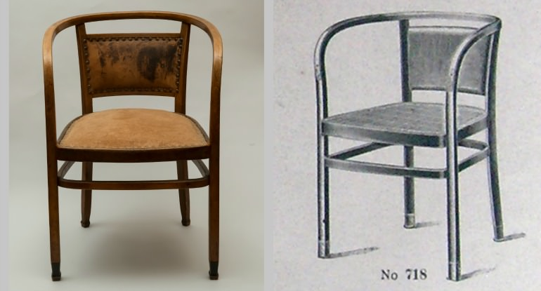 Otto Wagner armchair
