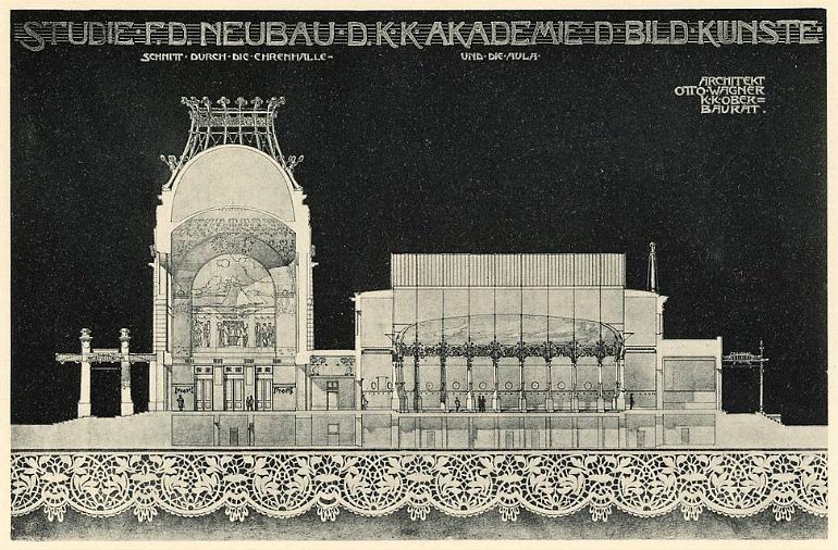 Otto Wagner progetto