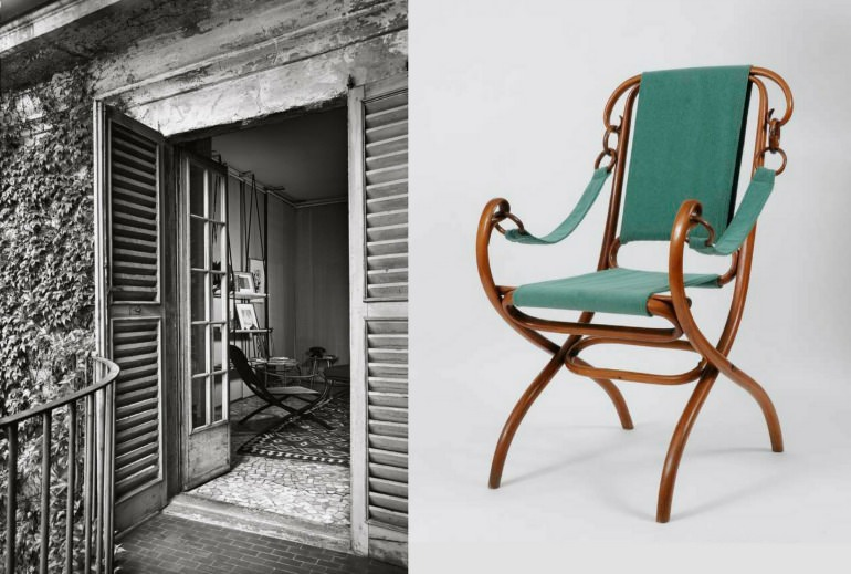 Thonet-armchair-architect-Nathan-Rogers-home-interior