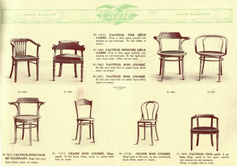Catalogue-Ditta-Eagle-Paris-bentwood-furniture