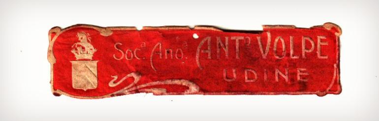 Etichetta Volpe 1910-1917