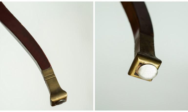Piedini di bronzo Thonet