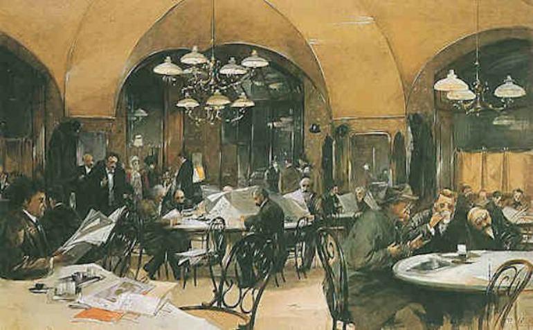 Vienna Café in stile Thonet