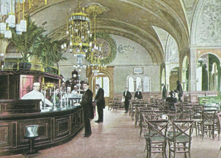 Thonet 91 in un caffé viennese
