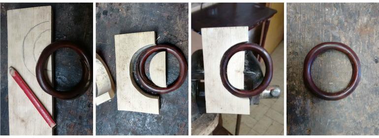 Thonet restauro: cerchi