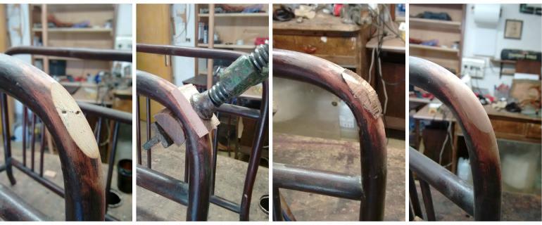 Thonet restauro: tasselli