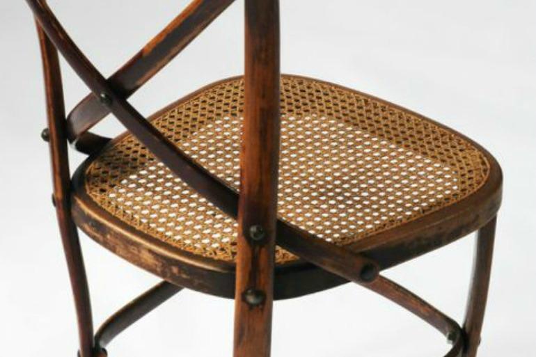 Thonet 91: dettaglio della seduta