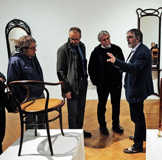 Poltrona Thonet Mostra Otto Wagner