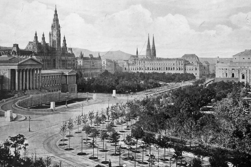 Vienna Ringstrasse,1860