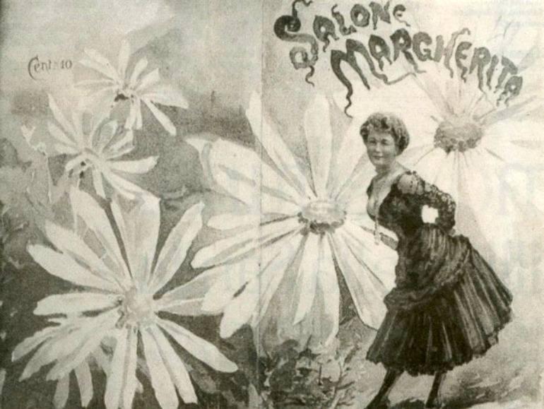 La sciantosa napoletana al Salone Margherita