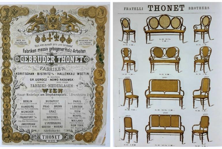 Thonet catalogo 1885
