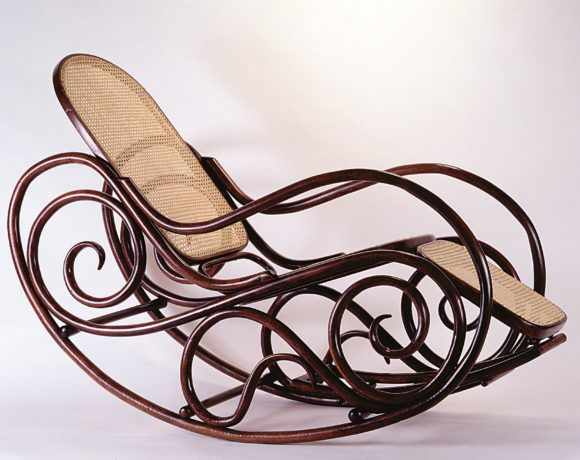 Wackerlin: chaise longue-dondolo