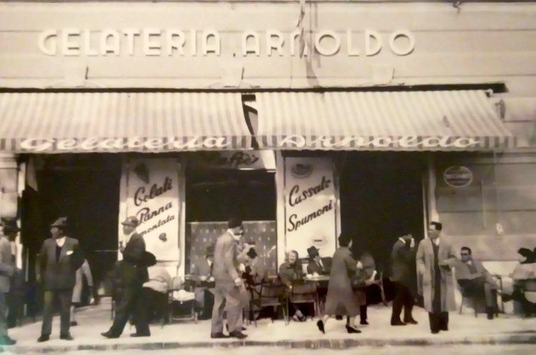 Trieste Gelateria Arnoldo