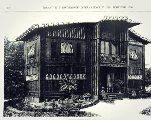 Volpe villino prefabbricato 1906