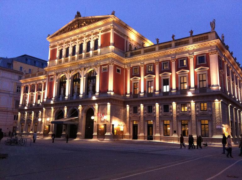 Wien Musik Verein. Image credits: Andrew Nash