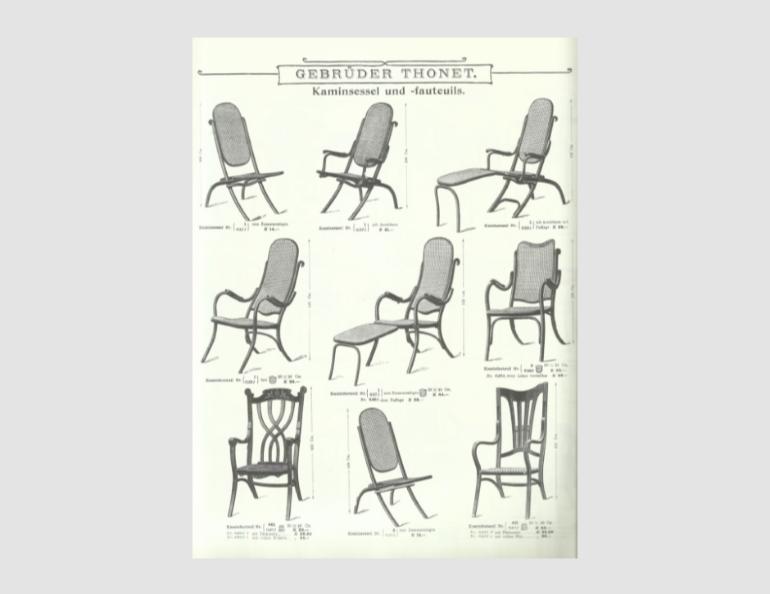 Thonet Catalogue 1904